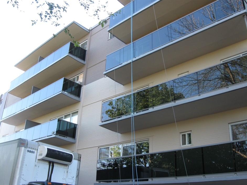 Building envelope grgas associates ltd for Building balcony